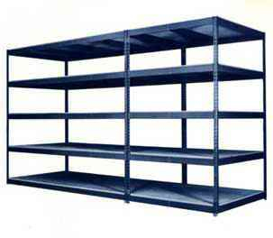 widespan shelving by dixie shelving